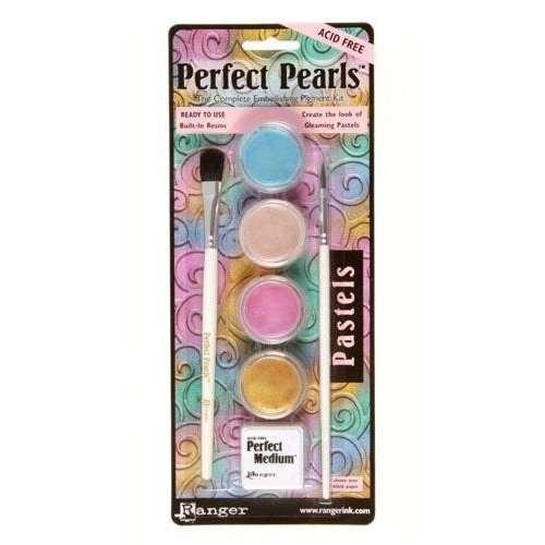 Perfect Pearls Interference, perleťový pudr s obsahem pryskyřice Ranger