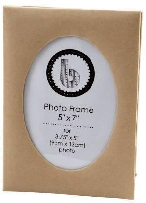 Kartonový rámeček na foto 9x13 ovál Design Objectives