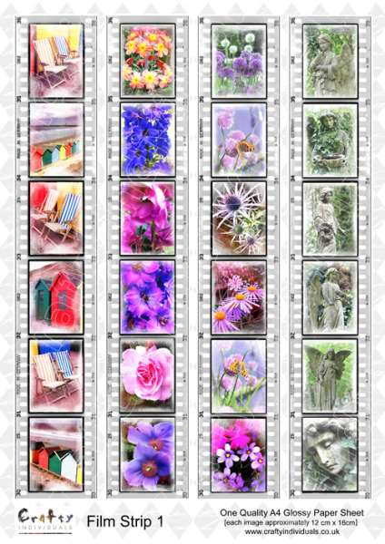 Fotopapír A4 od Crafty Individuals - Filmový pás Films Strips