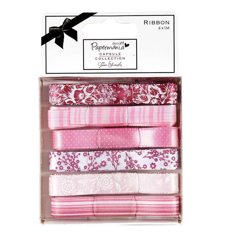 Sada stuh na scrapbooking Capsule Parkstone Pink Design Objectives