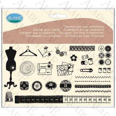 Novinka 2012! Sada gelových razítek od francozské firmy Aladine Šadlenka