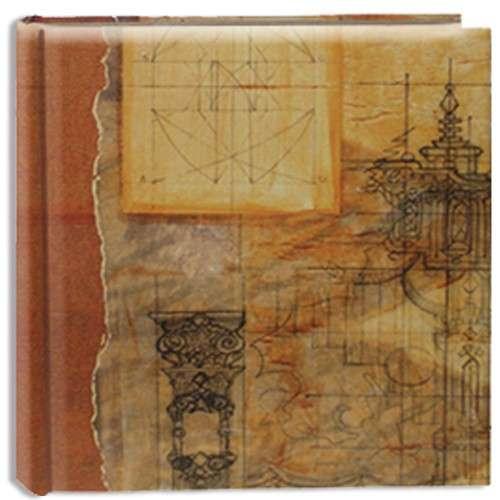 Album na scrapbook 30x30 kartonové desky vintage PIONEER