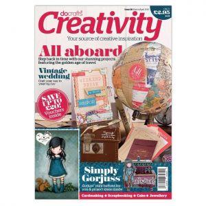 Docrafts Creativity! časopis č.38 Mar/Apr 2013 - poslední 2 kusy!