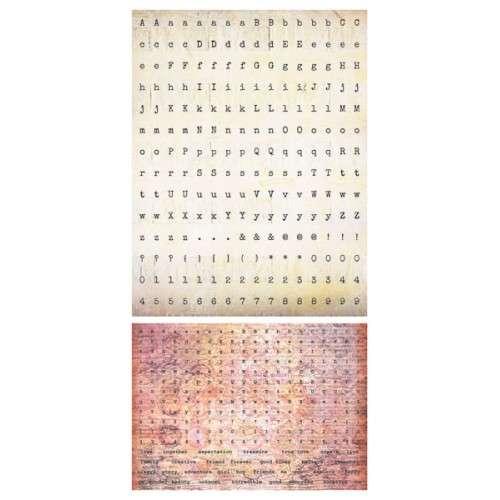 Domestic Goddess - Alpha Stickers - Raspberry Muffin - Samolepky na scrapbooking od 7 Dots Studio vhodná i pro cardmaking