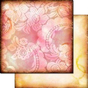 Domestic Goddess - Raspberry Pudding - Scrapbooková čtvrtka od 7 Dots Studio vhodná pro scrapbooking a cardmaking