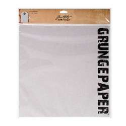 Grungepaper Tim Holtz 30,5x30,5 cm - Sada kartonových listů Tim Holtz