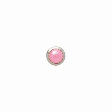 Hřebíčky Petite Pearls - 8mm - Feather Boa Imaginisce