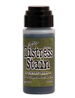 Inkoust v tekuté formě od Ranger, Tim Holtz - Distress Stain Forest Moss