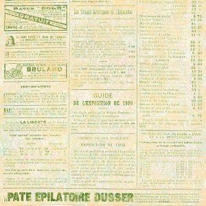 Scrapbookový papír Le Journal - Liberte