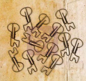 Kovové svorky na papír Engraver
