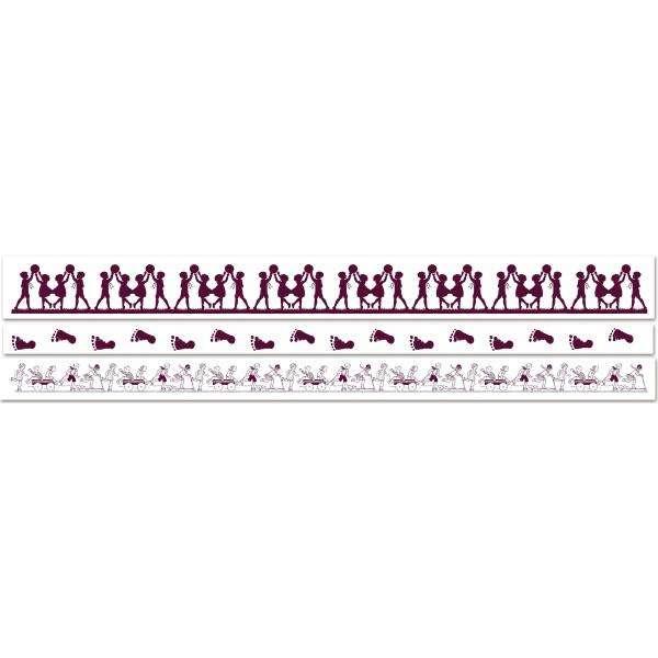 MAXI Stamp od Aladine, razítko na celou scrapbookovou stránku, StampoMaxi, 5x30 MULTI, děti