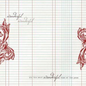 Scrapbookový papír Santas List Ledgerpie