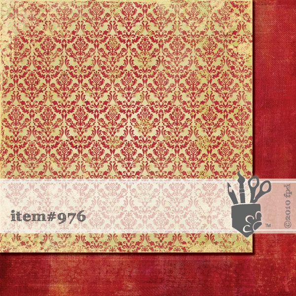 Scrapbooková čtvrtka Finishing Touch Fancy Pants