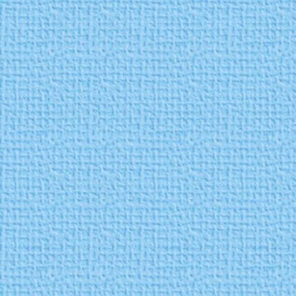 Texturovaná čtvrtka - papír na scrapbooking Basic Dětská modrá Ursus