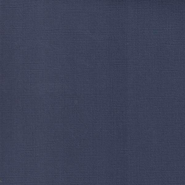Texturovaná čtvrtka - papír na scrapbooking Basic Noční modrá Ursus