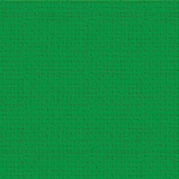 Texturovaná čtvrtka - papír na scrapbooking Basic Trávově zelený Ursus