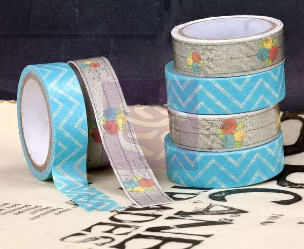 Washi & Fabric Tape - Lady Bird, washi páska na scrapbooking, jako dekorace Prima Marketing