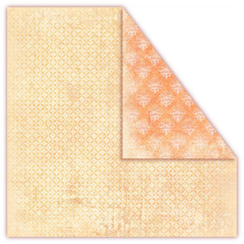 Čtvrtka na scrapbook, oboustranná, z kolekce Tropical Fruits - Clementines, 250 gsm. UHK Gallery