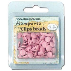 Hřebíčky na scrapbook 50ks růžové