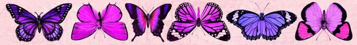 Oboustranný Papírový pásek - motýli Forest UHK Gallery