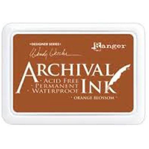Ranger - Inkoustový polštářek Archival - Orange Blossom