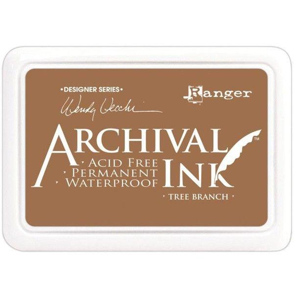 Ranger - Inkoustový polštářek Archival - Tree Branch