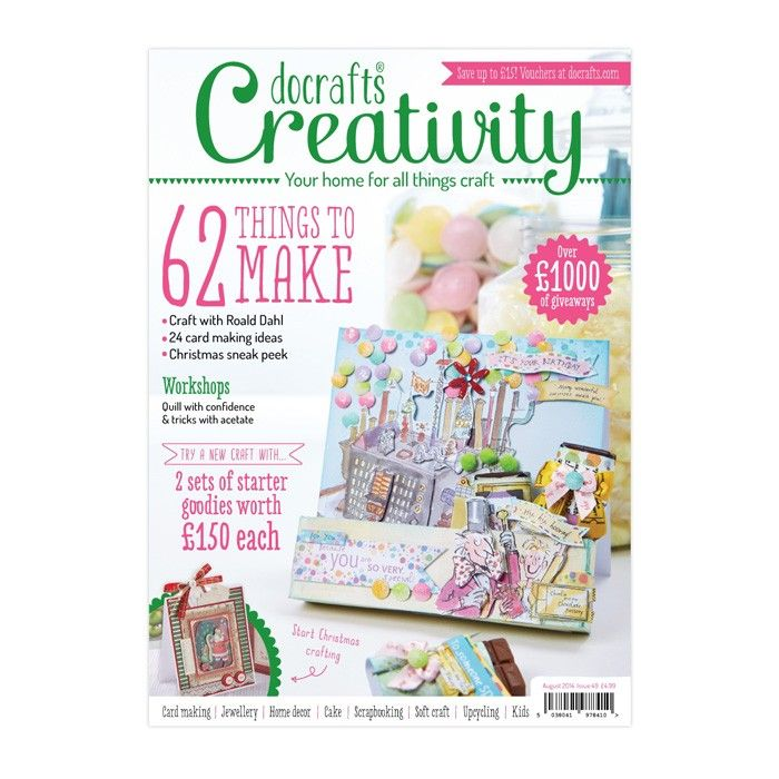 Scrapbookový Časopis Docrafts Creativity! Časopis č.49 August 2014 Design Objectives
