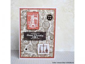 STAMPO SCRAP, STEAMPUNK, 27 ks , určeno na scrapbooking a cardmaking a Project Life Aladine