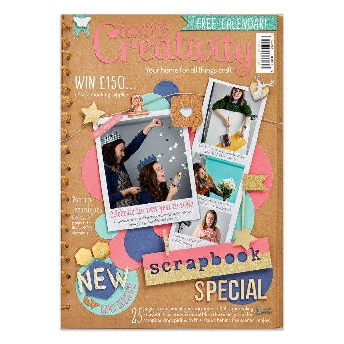 Časopis o scrapbookingu pro scrapařky! Docrafts Creativity! Časopis 77 Prosinec 2016 Design Objectives