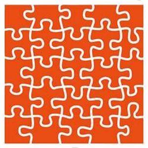 Embosovací kapsa 12,3x12,3cm Puzzle