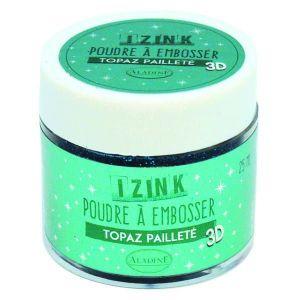Embosovací prášek, 25 ml, Topaz