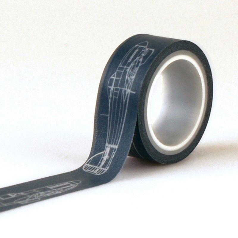 Samolepící papírová páska Jack and Jill Boy Letadla ECHO PARK PAPER CO.