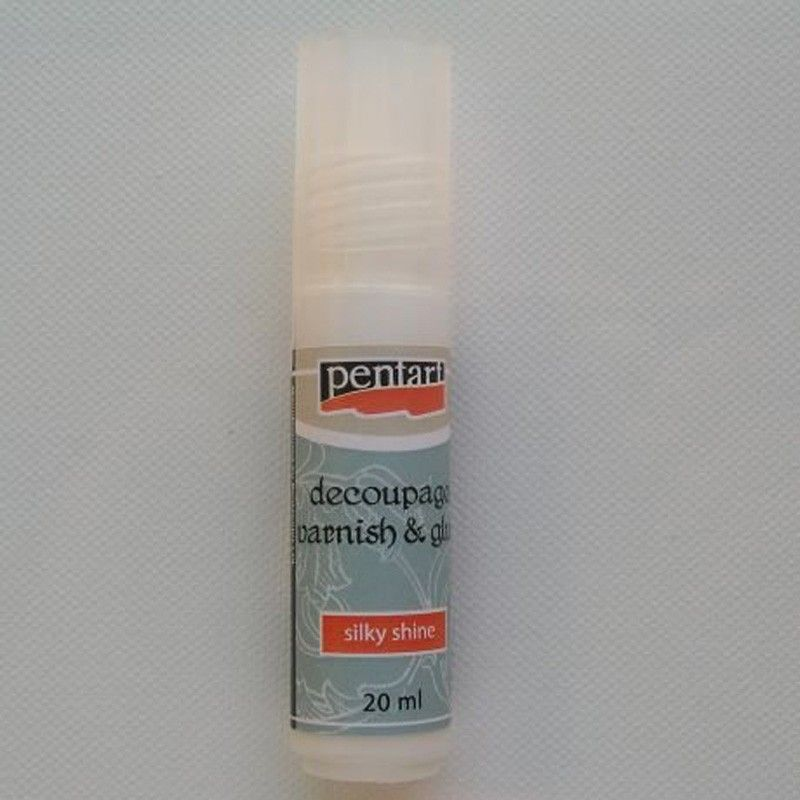 Lepidlo a lak na decoupage 20 ml PENTART