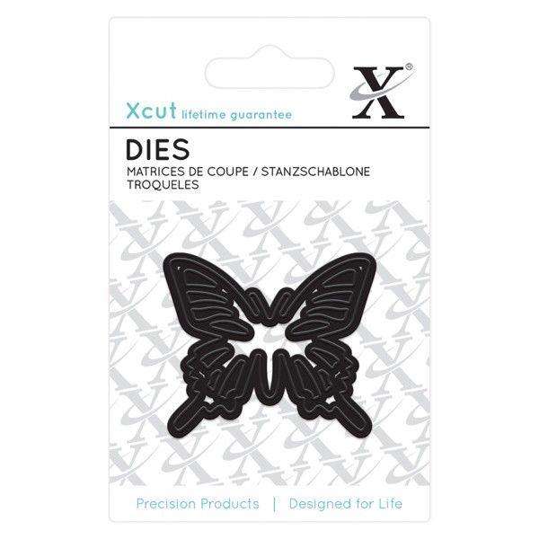 Motýl - vyřezávací kovové šablony Xcut