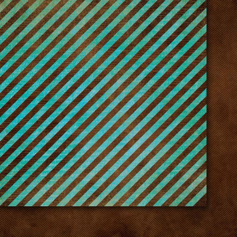Oboustarnný papír - čtvrtka na scrapbooking A Beautiful Mind 02 Galeria Papieru