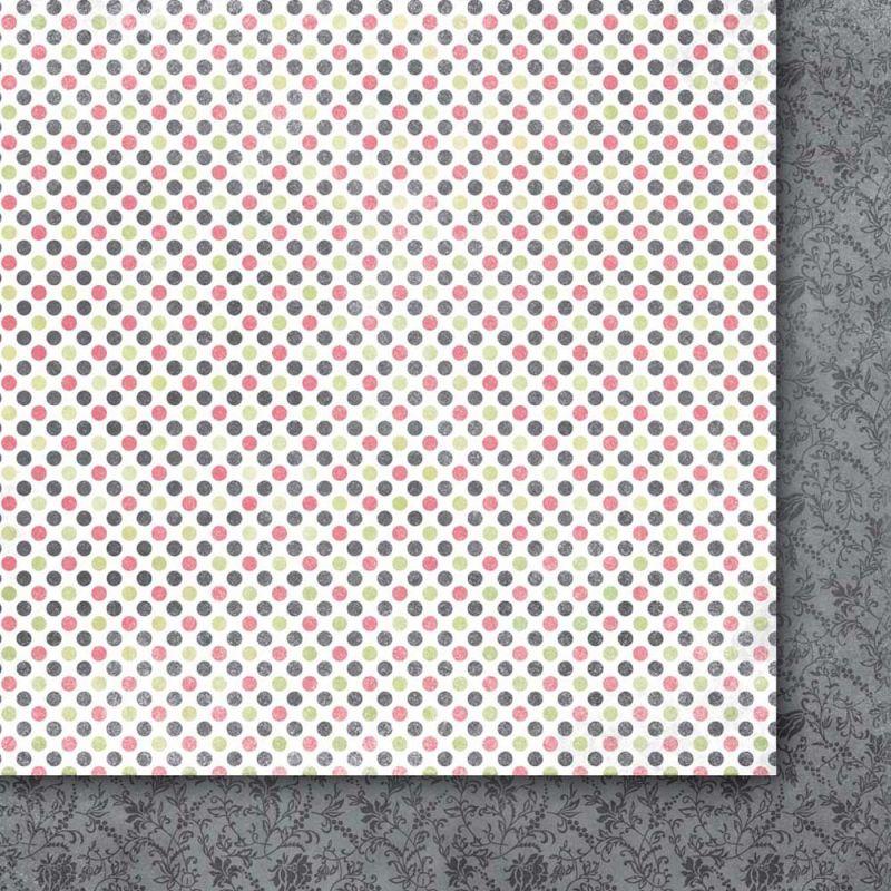 Oboustarnný papír - čtvrtka na scrapbooking Hidden Desires 04 Galeria Papieru