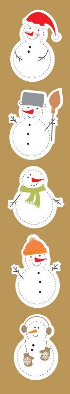 Pásek The First Snow of Winter - Sněhuláci Galeria Papieru