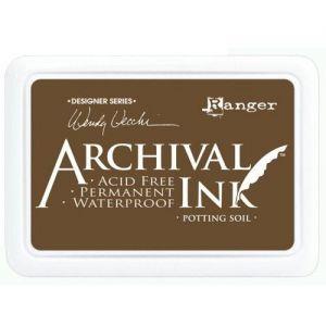 Ranger - Inkoustové polštářky Archival - Potting soil