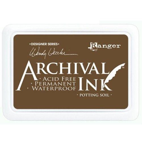 Ranger - Inkoustový polštářek Archival - Potting soil