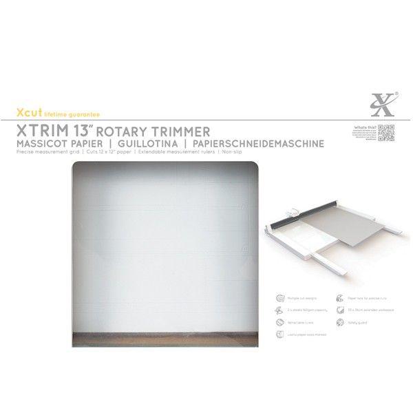 """Řezačka kotoučová – Xtrim 13"""" - Řezačka na papír od firmy xCut na scrapbooking a cardmaking, řeže papír"""