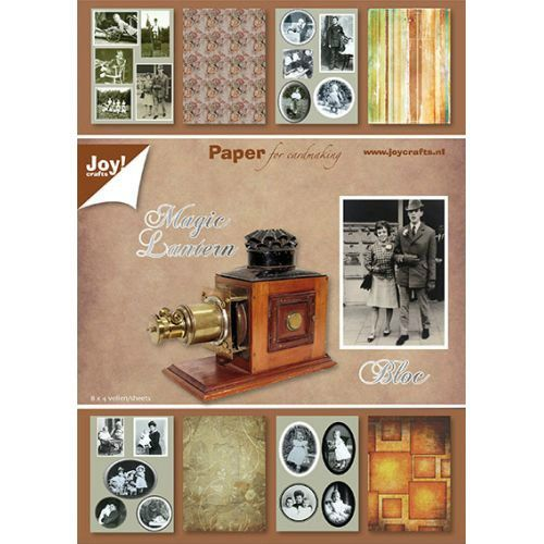 Sada papírů na scrapbooking JOY CRAFTS - Magic Lantern, A5 - 8 ks