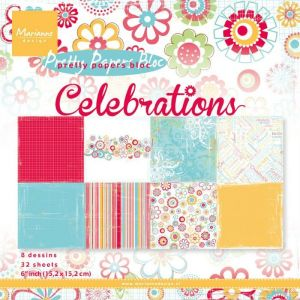 Marianne Design - Celebrations 15x15cm