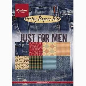 Marianne Design - Just for men, A5 - 8 ks