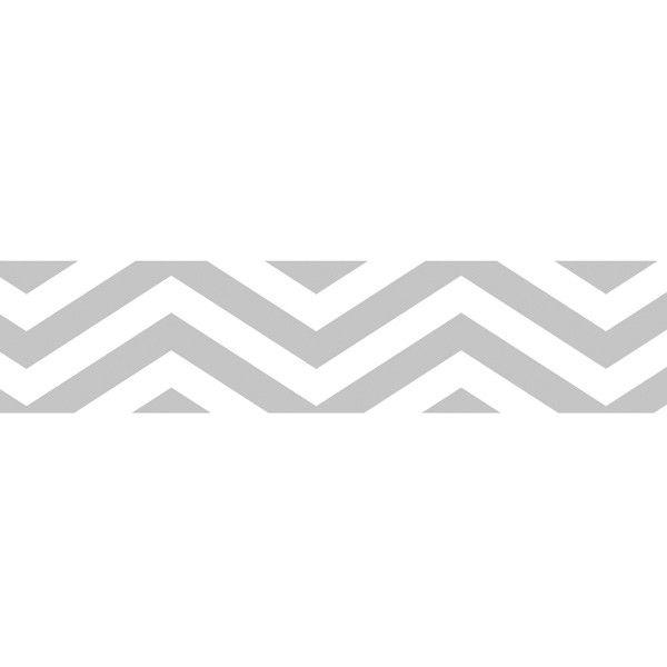 Samolepicí papírová páska 10m chevron šedá URSUS