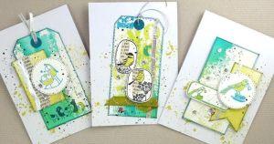 STAMPO SCRAP, Ptáčci, určeno na scrapbooking a cardmaking a Project Life Aladine