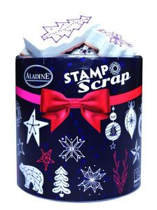 StampoScrap, Konstelace, určeno na scrapbooking a cardmakint Aladine
