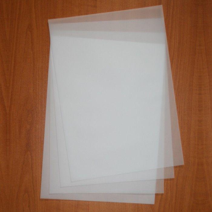 Transparentní papír A4 85g/m2 na pergamenové techniky a embosování 1ks Papermania