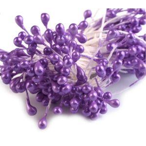 Pestíky do květin - fialové
