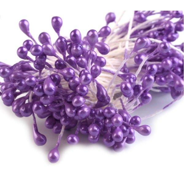 Pestíky do květin - fialové nezařazeno