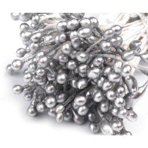 Pestíky do květin - stříbrné